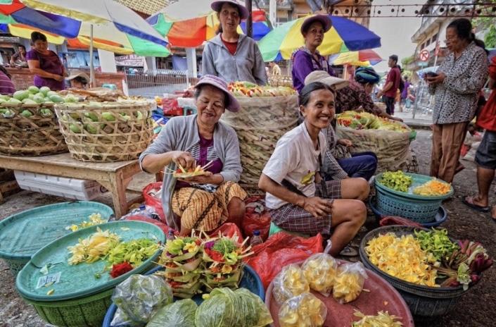 Lustrumreis naar Sumatra Indonesië! - Pasar Atas